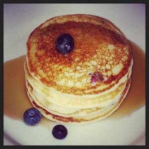GF Lemon Ricotta Pancakes